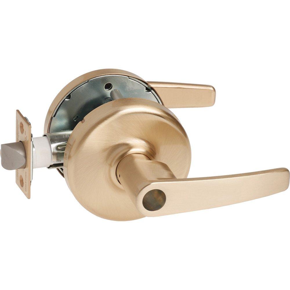 Satin Corbin Russwin CL3555-AZD-612-LC Grade 1 Classroom Steel//Zinc//Bronze 2-3//4 Backset 612 Non Handed 2-3//4 Backset