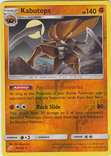 Pokemon Singles - Kabutops - 078/181 - Rare - Reverse for sale  Delivered anywhere in USA