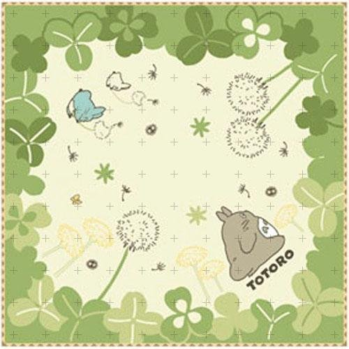 Marushin My Neighbor Totoro mini towel Kusa Wakaba (Leafs)