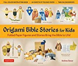Origami Bible Stories for Kids Ebook: Folded Paper Figures and Stories Bring the Bible to Life! Everything you need is in this box! Full-color book with ... plus 64 patterned folding sheets]