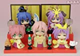 Lucky Star 10 piece figure set Gashapon