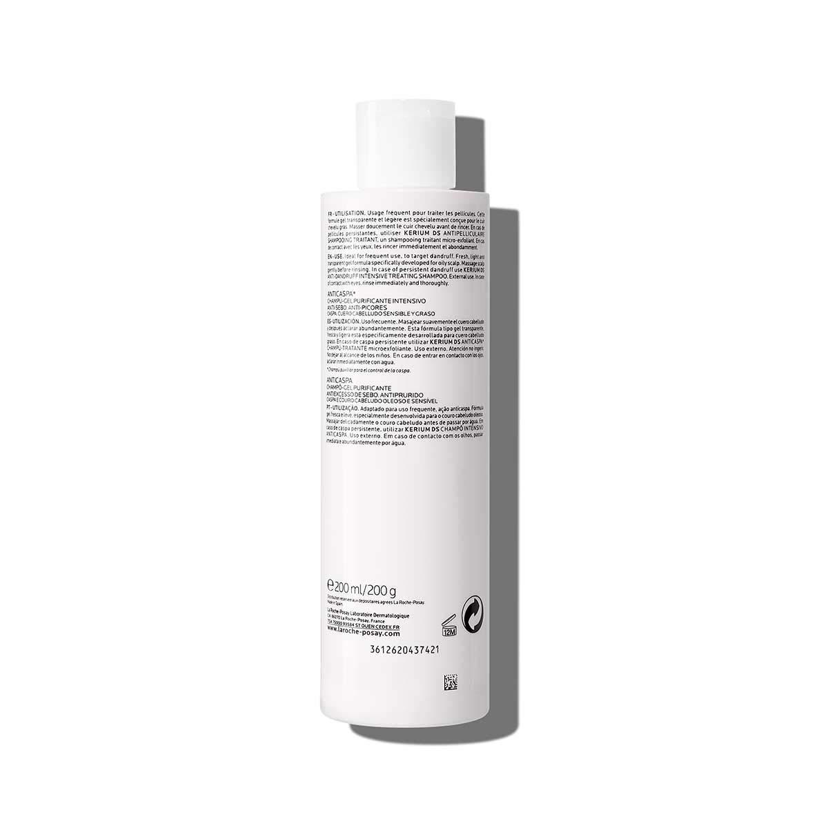 La Roche Posay, Kerium Champú Gel Exfoliante, 200 grams: Amazon.es
