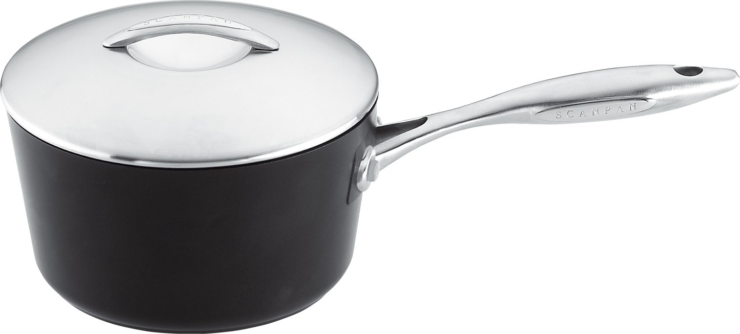 Scanpan Professional 3-Quart Covered Saucepan