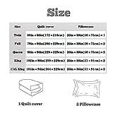 UOUL 3 Pieces Complete Bedding Set 3D Digital
