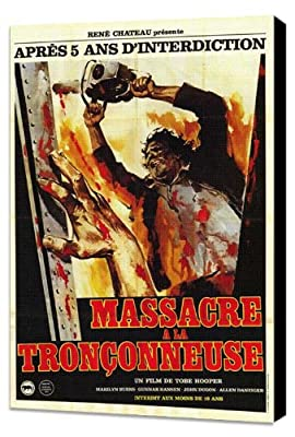 The Texas Chainsaw Massacre 11 x 17 Movie Poster - French Style A - Museum Wrapped Canvas