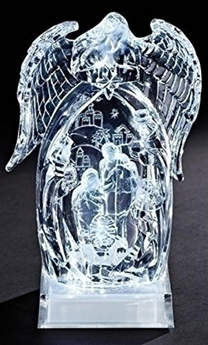 Icy Crystal Led Lighted Angel in US - 1