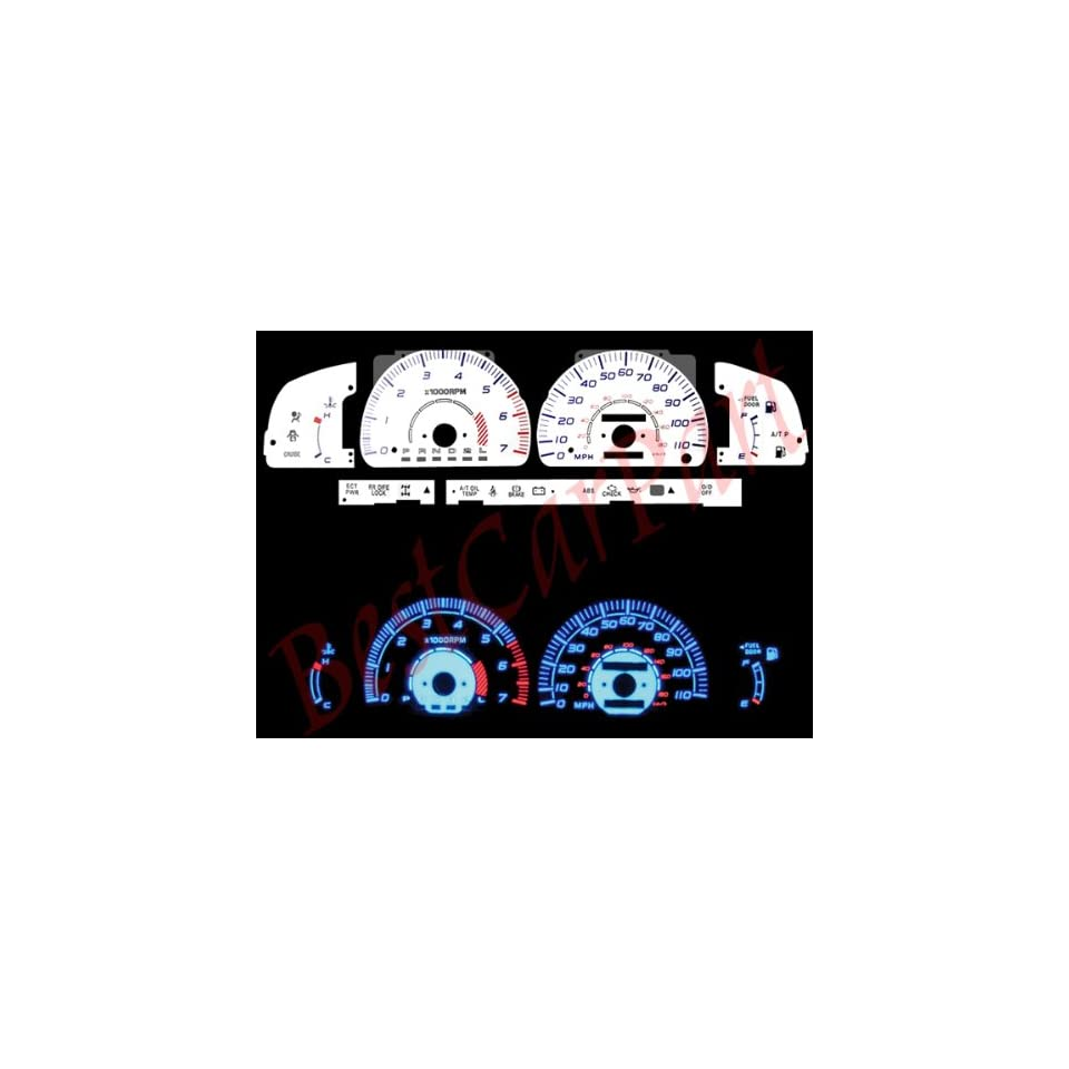 TOYOTA 4RUNNER INTERIOR WOOD DASH TRIM KIT SET 1996 1997 1998