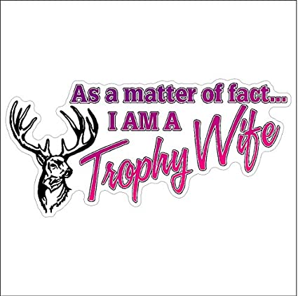 Trophy Hunter Deer Hunting Car Truck Window Decor Vinyl Decal Sticker