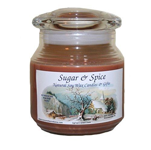 Sugar & Spice Natural Soy Wax Candles 16 Ounce (Banana Nut Bread) ()