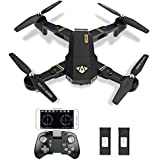 TIANQU XS809W RC Drone Foldable Flight Path FPV VR Wifi RC Quadcopter Drone with 720P HD 2MP Camera