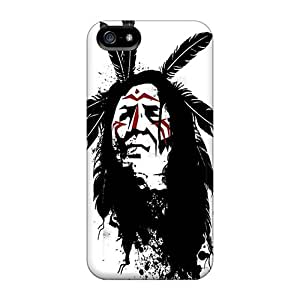 DGENDS Scratch-free Phone Case For Iphone 5/5s- Retail Packaging - Native American