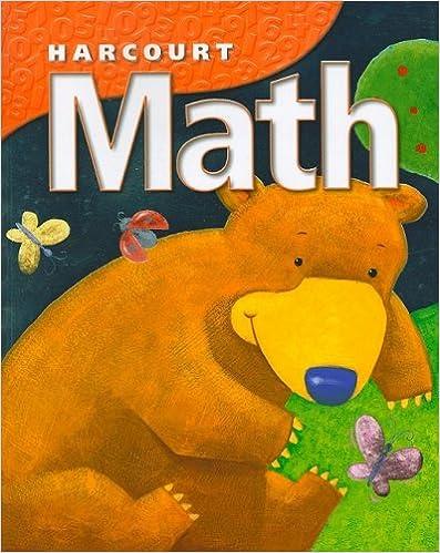Printables Harcourt Math Worksheets harcourt math student workbook grade k school 1st edition