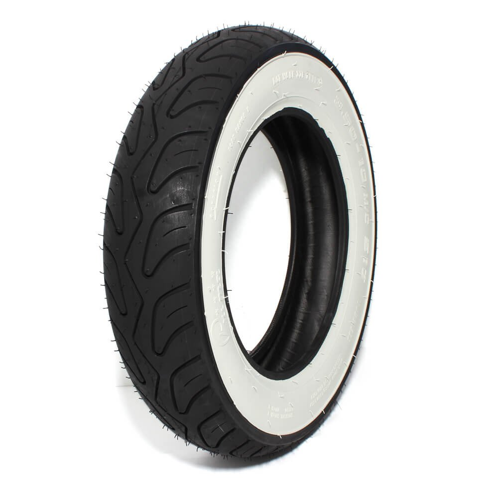 Prima Whitewall Scooter Tire (Tubeless, 3.50 x 10 T/L WW) by Prima