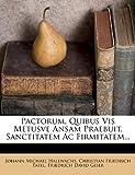 Pactorum, Quibus Vis Metusve Ansam Praebuit, Sanctitatem Ac Firmitatem, Johann Michael Hallwachs, 1278044744
