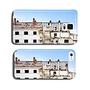 bombed house in war zone cell phone cover case Samsung S6