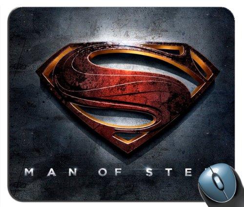 1 X Custom Superman Man of Steel v2 Mouse Pad g4215
