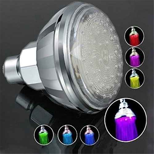 7 color led shower head - 1