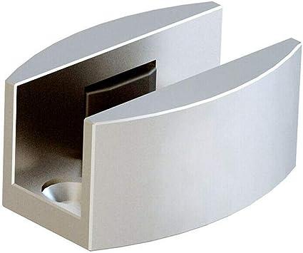 Aleación de aluminio suelo guía de repuesto para sin Marco puerta corredera de cristal: Amazon.es: Bricolaje y herramientas