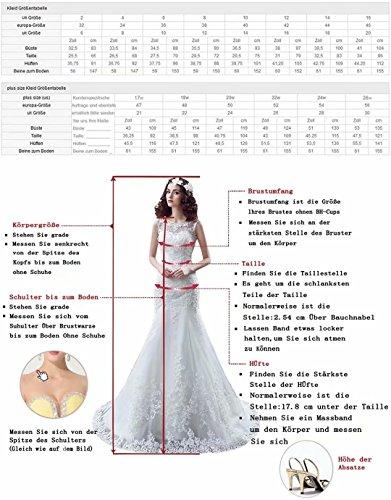 Abiball Chiffon Ball Abschlusskleider Abendkleider Lilybridal 131 Brautjungfernkleider Tuerkis Pailletten gPqXa