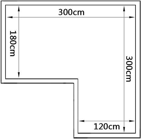 Tidyard Invernadero 2 Sección con Paneles Cóncavos de Estructura de Aleación de Aluminio y Paneles de Policarbonato, Superficie del Terreno 8,24 m²: Amazon.es: Hogar