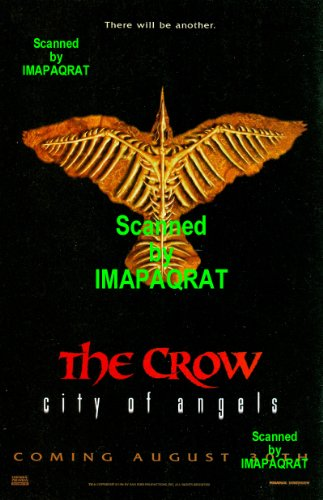 The Crow - City of Angels: There Will Be Another: August 30th: Great Original Movie Print Ad