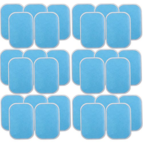 Abs Stimulator Replacement Gel Pads, Pack of 30 by Stratton Supreme