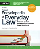 img - for Nolo's Encyclopedia of Everyday Law: Answers to Your Most Frequently Asked Legal Questions book / textbook / text book