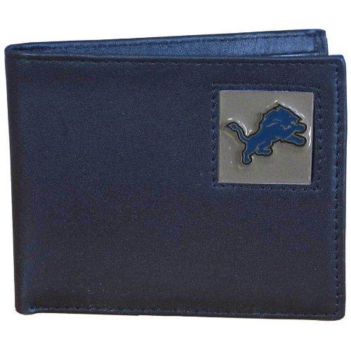 NFL Detroit Lions Leather Bi-fold Wallet