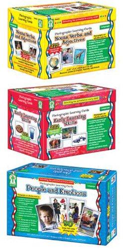 Photographic Flash Cards Set Photographic Learning