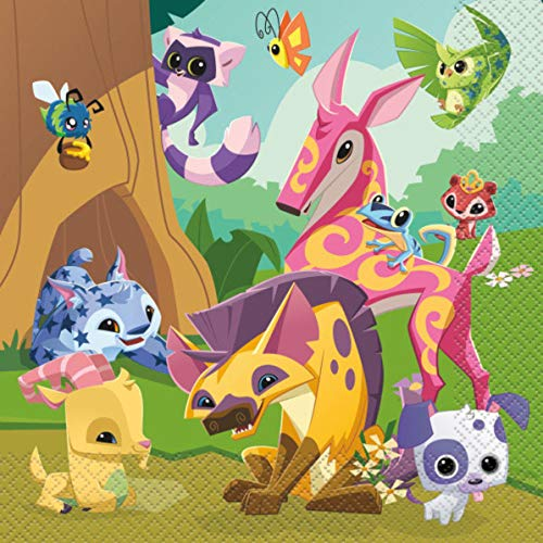 Animal Jam Personalized Edible Frosting Image 1/4 Sheet Cake Topper