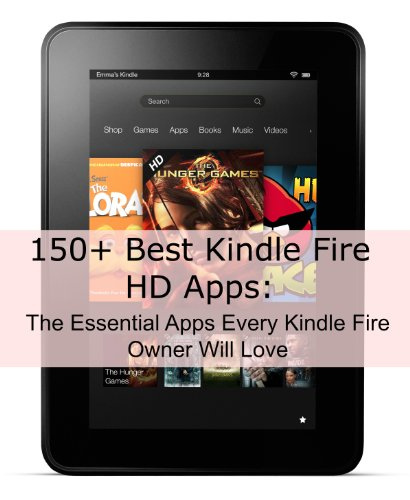 150 Best Kindle Fire Apps ebook product image