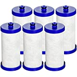 Waterdrop Replacement Refrigerator Water Filter, Compatible with WF1CB, WFCB, RG100, NGRG2000, WF284, 9910, 469906, 469910 (6 Pack)