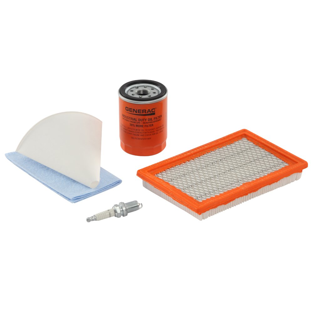 Generac 6482 Scheduled Maintenance Kit for Home Standby Generators with 8 kW 410cc Engines