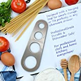 Delightly Spaghetti Measure Tool - Pasta Portion Control Gadgets - Stainless Steel Dishwasher Safe