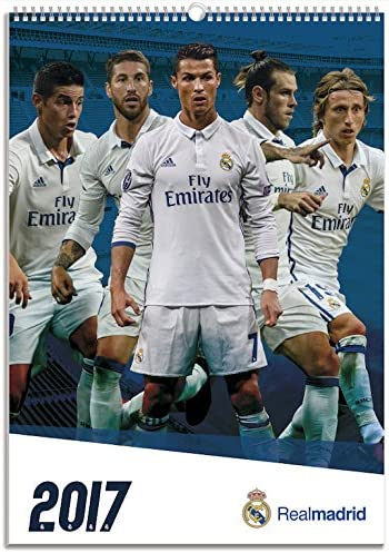 Comprar Oficial Real Madrid 2017 -Calendario, A3