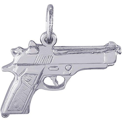 Sterling Silver Pistol - 3