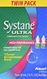 Systane Ultra Lubricant Eye Drops, 2-count .33 fl oz (10 ml) Bottle