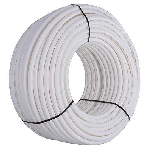 Tubing Pex White (SharkBite PEX Pipe Tubing 1 Inch, White, Flexible Water Tube, Potable Water, U880W500, 500 Foot Coil)