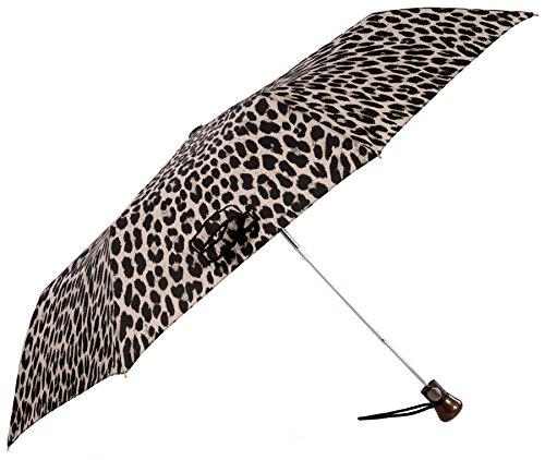 Vista Executive Animal Print Fashion Umbrella - White Snow (Animal Print Umbrella)