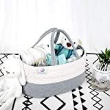 KiddyCare Baby Diaper Caddy Organizer - Stylish