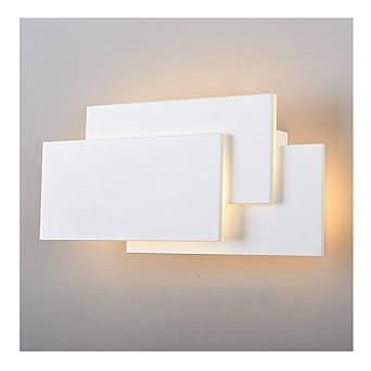K Bright Wandleuchte LED Innen,24W Modernes Design Elegante  Wandleuchten,warmweiß Aluminium Leuchten