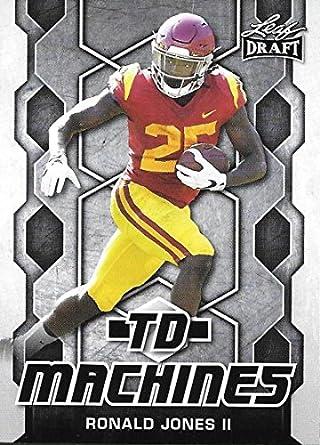 cheaper 482b2 9c94e Amazon.com: 2018 Leaf Draft TD Machines #TD-16 Ronald Jones ...