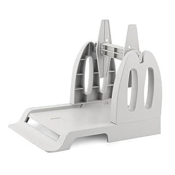 Amazon.com: Externo soporte de rollo de papel etiqueta de ...
