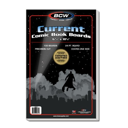 Ultimate Comic Book Collectors Package of 200 BCW Current Comic Book Bags and Boards!