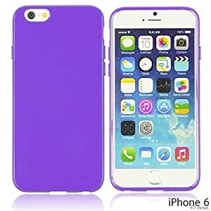 OnlineBestDigital - Colorful Soft Gel Case for Apple iPhone 6 (4.7 inch)Smartphone - Purple