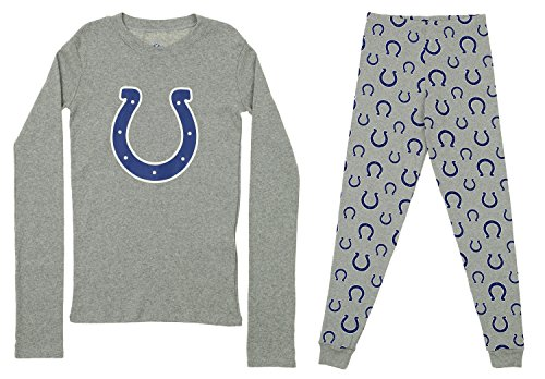 Outerstuff NFL Youth Long Sleeve and Pant Sleep Set, Indianapolis Colts X-Large (18) by Outerstuff