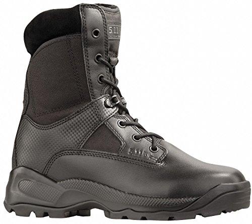 Men's 5.11 Tactical 8 inch Waterproof Side - zip Storm Boots Black, BLACK, 13W(EE)