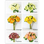 Sweet-Home-Deco-11-Silk-Ranunculus-Artificial-Flower-Bouquet-9-Stems-for-Wedding-Home-Decorations-Orange