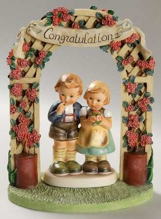 Hummel ** We Congratulate Collector's Set ** 156824