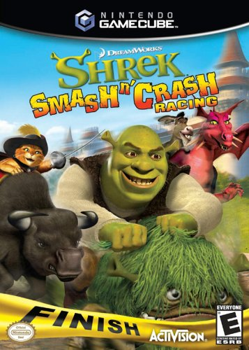 Shrek Smash 'N' Crash - - Racing Games Gamecube